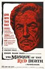 THE MASQUE OF THE RED DEATH B-MOVIE REPRODUCTION ART PRINT A4 A3 A2 A1