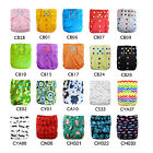 U Pick AlvaBaby Cloth Diapers Colored Snaps Onesize Reusable With Double gussets