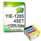 16x NON-OEM INK CARTRIDGES REPLACE FOR T1281 T1282 T1283 T1284 T1285