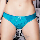 Panache Superbra Lingerie Tango Luxe Thong/Knickers Ocean Blue 6729 Select Size