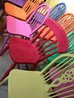 Mix & Match Vintage Kitchen Chairs- Colours of your Choice- Painted to order