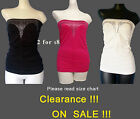 Sexy lady camisole Top  Strapless cami undershirt One Size Fit most to s m l xl