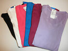 NWT Champion Womens Long Sleeve Tee Shirt 7918 - S M L XL XXL