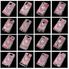 Bow-knot Pearl Bling Crystal Diamond Rhinestone Snap-On Hard Case Cover Skin