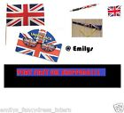 UNION JACK flag pen glasses Northern Ireland BRITISH celebration OLYMPICS