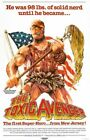 THE TOXIC AVENGER 02 CLASSIC B-MOVIE REPRODUCTION ART PRINT A4 A3 A2 A1