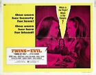 TWINS OF EVIL 02 CLASSIC B-MOVIE REPRODUCTION ART PRINT A4 A3 A2 A1