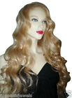 Remi Remy Glueless Full Lace Wig Blonde Mix 613 and 27 Wavy Indian Human Long
