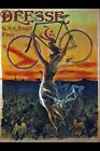 Vintage Poster Deesse Bicycle And Woman VCP018 Art Print A4 A3 A2 A1