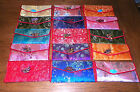 NEW ASIAN SILK 2 POCKET WITH ZIPPER COIN HOLDER WALLET ORGANIZER SEVERAL COLORS