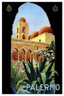 Palermo Vintage Italian Travel Poster VII098 Art Print A4 A3 A2 A1