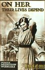 Vintage Poster Women Munition Workers WIWP006 Art Print A4 A3 A2 A1