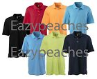 ASHWORTH GOLF Mens S-2XL 3X 4X EZ Tech Textured Golfman dri fit Polo Sport Shirt