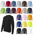 Hanes Brand NEW 6 oz. 100% Cotton Long Sleeve T-Shirt Mens S-3XL Tagless Tee