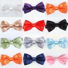 Formal Tuxedo Wedding Mens Man Gentleman Bow Tie Bowtie Adjustable Solid Color