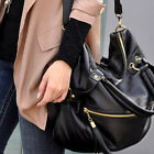 New  Women's Girl's Vintage Designer PU Leather Shoulder Messenger Handbag Tote
