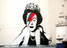 Queen Jubliee Image New Banksy 2012 Art Print Poster A4 A3 A2 A1