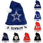 NFL Football 2012 Team Logo Plush Christmas Santa Hat - Pick Your Team!