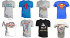 MENS CHARACTER COMIC BOOK HEROES BAT/SPIDER/MICKY/STARWARS/MARVEL/MUPPET T-SHIRT
