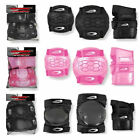 OSPREY 6 PIECE SKATE PADS KIDS CHILDRENS TEENAGERS inline kiteboarding longboard