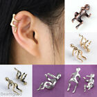 1x Climbing Men Hug Ear Cuff Wrap Fake Unisex Earring Non Piercing Jewelry Punk