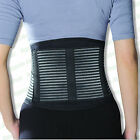 Comfort Back Support Medical Grade Double Pull Strap Lower Lumbar Brace Belt