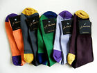 Mens Quality Fashion Contrast Heel and Toe Socks, Size 7-11, Various Colours