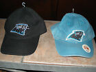 NFL Carolina Panthers Black or Distressed Blue Ball Cap, MSRP $13.50-$22.00