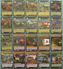 Dinosaur King TCG Choose 1 Alpha Dinosaurs Attack Silver Rare Card from List