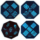 Nail Art Stamping Image Template Plate KD Series (KD20 - 24) *** NEW ***