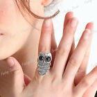 HOT Fashion Sweet Lovely Owl Ring Adjustable Animal Wholesale FREE SHIP FBFJ134