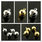 Fashion Metal Small Jingle Bell Christmas Decoration Jewelry Finding Hot Sale