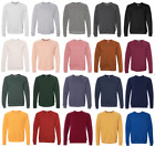 Bella Canvas Unisex Blend Sponge Fleece Crewneck Sweatshirt XS-XL 2XL Jumper 901