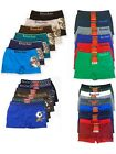 Внешний вид - 6 pairs Boys Boxer Brief Underwear Seamless Wholesale Lot S M L Choose Pattern!