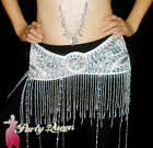 11 color Shining Sequins Hip Scarf Belt Chain Belly Dance Costumes