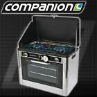 NEW GAS 2 BURNER STOVE CAMPING OVEN COOKER COOKING STAINLESS PORTABLE COMPANION