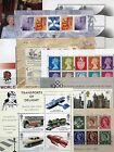 GB 1978 - 2005 Mini / Miniature Sheets mnh & used ( Multiple Listing )