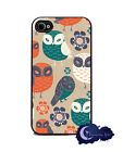 Hooty Hoot Owls - iPhone 4 and 4s Silicone Rubber Cover, Cell Phone Case
