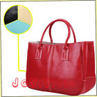 Retro Candy Concise Women's Ladies PU Leather Handbags Briefcase Purse Tote Bag