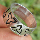 Triquetra Celtic Triangle Trinity Norse Viking Celtic Druid Pagan Pewter Ring