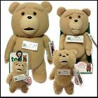 """OFFICIAL TED BEAR ALL SIZES CLIP 8"""" 16"""" 24"""" TALKING PLUSH SOFT TOY MOVIE RARE"""