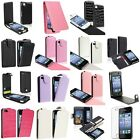 Purple Black Pink White Flip Leather Case/Wallet Cover Pouch For iPhone 4 4S 4GS