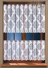 Traditional White Kitchen Cafe Net Curtain 50cm or 70cm drop Price Per Meter
