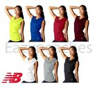 NEW BALANCE Women's Sleeveless ATHLETIC WORKOUT Gym T-shirt dri-fit Tee XS-2XL