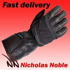 RST ALPHA II WP 1886 WATERPROOF LEATHER AND TEXTILE TOURING GLOVE BLACK
