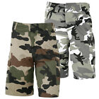 BERMUDA CAMOUFLAGE MILITAIRE PAINTBALL URBAIN GRIS AIRSOFT OUTDOOR LOISIRS PROMO