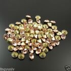 Multi Size Light Colorado Topaz Crystal Rhinestone Point Back Seed Stones