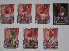 Various Arsenal FC hand signed football match attax sport cards 2012-13