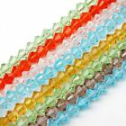1 Strand 4mm Beauty Faceted Bicone Crystal Glass Loose Beads For Jewelry Making