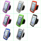 Gym Sports Running Jogging Cycling Armband Leather Case Pouch Holder Cover #A